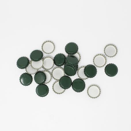Green Crown Caps